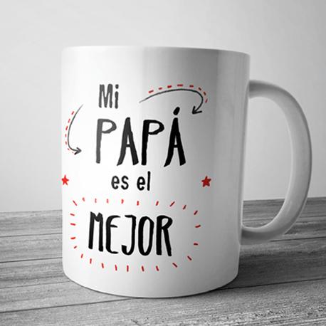Taza mi pap es el mejor Taza para regalar y sorprender a los padres