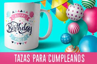 tazas para cumpleaños personalizadas